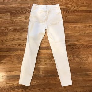 Madewell Jeans - Madewell 9'' high rise skinny jean in Pure White